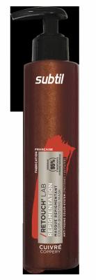 Odżywka do włosów koloryzująca Retouch RUDY MIEDZIANY. Pielęgnacja repigmentująca 195 ml.