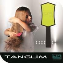 LIM Tanglim szczotka do rozczesywania włosów Fluor Fuksja