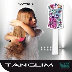 LIM Tanglim szczotka do rozczesywania włosów Kolorowe Kwiaty