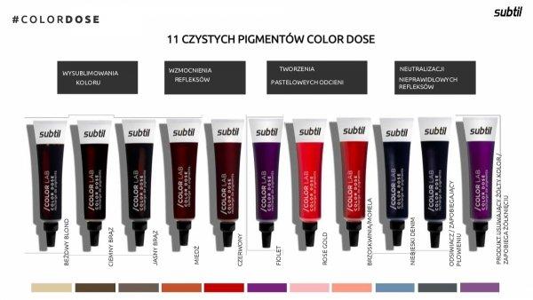 Color Dose 15 ml MIEDŹ Subtil