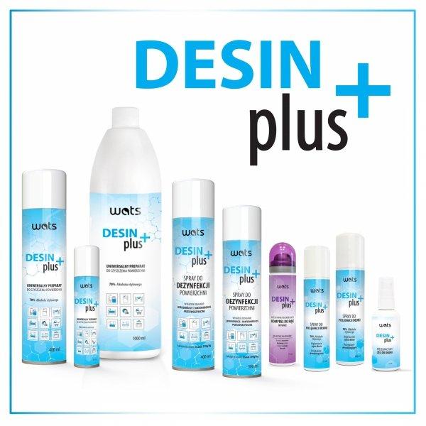 Antybakteryjny i przeciwwirusowy spray do dezynfekcji DesinPlus