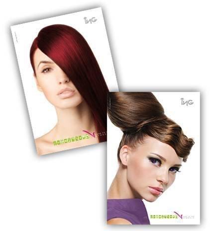 ING Coloring Cream 100 ml - odcień: 7.46 Czerwony Tycjanowy Blond (Czerwienie)