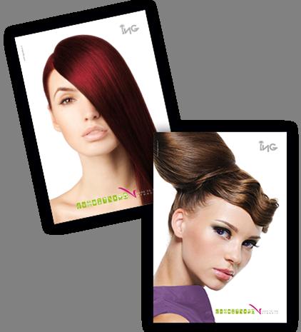 ING CREAM - Profesjonalna farba do włosów 100 ml - odcień 8M - Jasny Matowy Blon