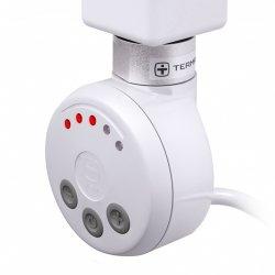 Grzałka MEG 120W Kolor Biały z Kablem Spiralnym