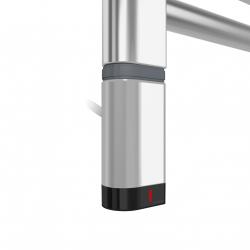 Grzałka One D30x40 Lewy 1000W Kolor Chrom z Kablem Spiralnym
