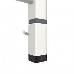 Grzałka One D30x40 Prawy 600W Kolor Biały z Kablem Spiralnym