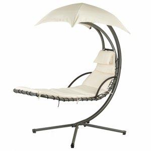 Leżanka huśtawka ogrodowa hamak fotel wiszący kosz