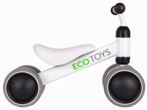 Rowerek biegowy mini rower Practise White Ecotoys