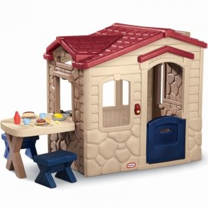 Little Tikes Domek Ogrodowy z Patio dla dzieci