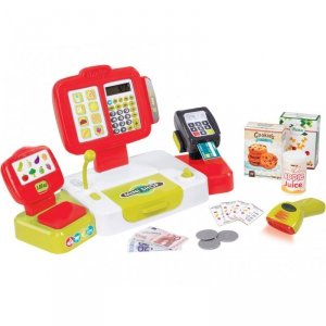 Elektroniczna Kasa Fiskalna dla dzieci Smoby Czerwona