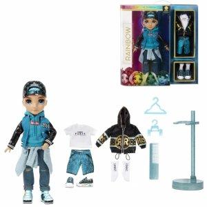 MGA Rainbow High Fashion Doll Teal Boy River Kenda