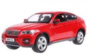 BMW X6 Rastar 1:14 RTR (zasilanie na baterie AA) - Czerwony
