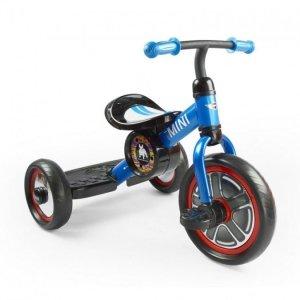 Rowerek trójkołowy MINI - niebieski