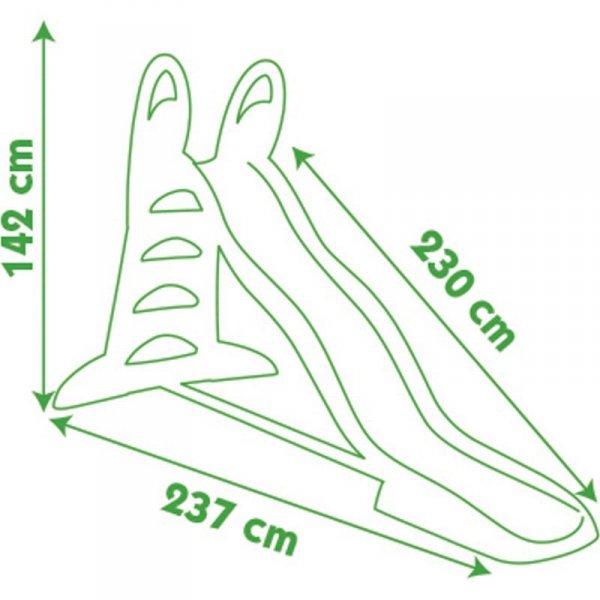 Zjeżdżalnia Ogrodowa XL 230 cm Smoby