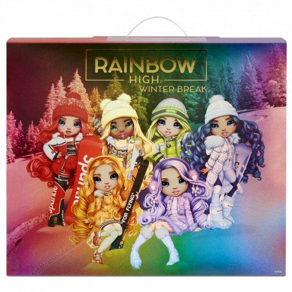 Rainbow High Violet Willow Winter Break Fashion Doll Lalka Modowa