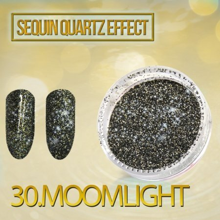 30. SEQUIN QUARTZ EFFECT - MOONLIGHT