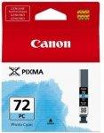 Canon oryginalny wkład atramentowy / tusz PGI72PC. photo cyan. 14ml. 6407B001. Canon Pixma PRO-10 6407B001