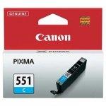 Canon oryginalny wkład atramentowy / tusz CLI551C. cyan. 7ml. 6509B001. Canon PIXMA iP7250. MG5450. MG6350 6509B001