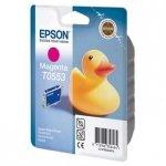Epson oryginalny wkład atramentowy / tusz C13T055340. magenta. 290s. 8ml. Epson Stylus Photo RX425. 420 C13T05534010