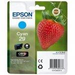 Epson oryginalny wkład atramentowy / tusz C13T29824022. T29. cyan. 3.2ml. Epson Expression Home XP-235.XP-332.XP-335.XP-432.XP-435 C13T29824022