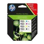 HP Tusz 932XL Blck/933XL Cy/Ye/Ma 4 Pack