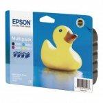 Epson oryginalny wkład atramentowy / tusz C13T055640AO. CMYK. Epson Stylus Photo RX425. 420 C13T05564010