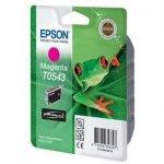 Epson oryginalny wkład atramentowy / tusz C13T054340. magenta. 400s. 13ml. Epson Stylus Photo R800. R1800 C13T05434010