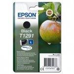Epson oryginalny wkład atramentowy / tusz C13T12914012. T1291. black. 385s. 11.2ml. Epson Stylus SX420W. 425W. Stylus Office BX305F. 320FW C13T12914012