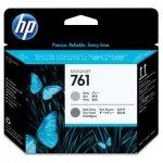 HP oryginalna głowica drukująca 761 CH647A głowica drukująca Designjet: szary/ciemny szary