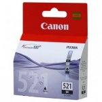 Canon oryginalny wkład atramentowy / tusz CLI521BK. black. 665s. 9ml. 2933B001. Canon iP3600. iP4600. MP620. MP630. MP980 2933B001
