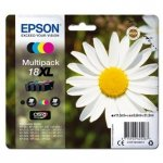 Epson oryginalny wkład atramentowy / tusz C13T18164012. T181640. 18XL. CMYK. 3x6.6/11.5ml. Epson Expression Home XP-102. XP-402. XP-405. XP-302 C13T18164012