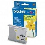 Brother oryginalny wkład atramentowy / tusz LC-970Y. yellow. 300s. Brother DCP-135C. 150C. MFC-235C. 260C LC970Y
