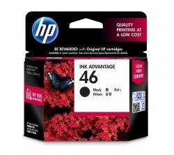 HP Wkład atramentowy 46 Black Original Ink Adv Cartridge CZ637AE#BFW