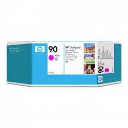 HP oryginalny wkład atramentowy / tusz C5063A. No.90. magenta. 400ml. HP DesignJet 4000. 4000ps. 4500 C5063A