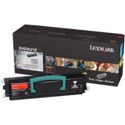 Lexmark oryginalny toner E450A21E. black. 6000s. Lexmark E450