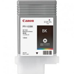 Canon oryginalny wkład atramentowy / tusz PFI103B. photo black. 130ml. 2212B001. ploter iPF-5100. 6100