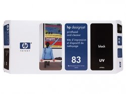 HP oryginalna głowica drukująca C4960A. No.83. black. HP DesignJet 5000. PS. UV. 5500. PS C4960A