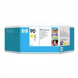 HP oryginalny wkład atramentowy / tusz C5064A. No.90. yellow. 225ml. HP DesignJet 4000. 4000ps. 4500 C5064A