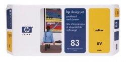 HP oryginalna głowica drukująca C4963A. No.83. yellow. HP DesignJet 5000. PS. UV. 5500. PS C4963A