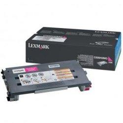 Lexmark oryginalny toner C500H2MG. magenta. 3000s. return. Lexmark C500. X500 C500H2MG