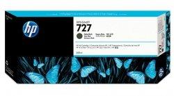 HP oryginalny wkład atramentowy / tusz C1Q12A. No.727. matte black. 300ml. HP DesignJet T1500. T2500. T920 C1Q12A