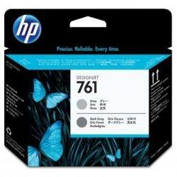 HP oryginalna głowica drukująca 761 CH647A głowica drukująca Designjet: szary/ciemny szary CH647A