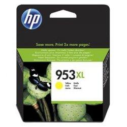 HP oryginalny wkład atramentowy / tusz F6U18AE. No.953XL. yellow. 1600s. 20ml. high capacity. HP OfficeJet Pro 8218.8710.8720.8730.8740 F6U18AE#BGY
