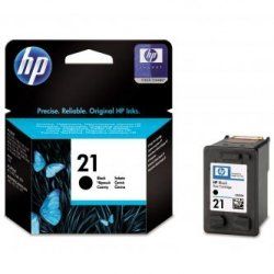 HP oryginalny wkład atramentowy / tusz C9351AE. No.21. black. 150s. 5ml. HP PSC-1410. DeskJet F380. OJ-4300. Deskjet F2300 C9351AE#UUQ
