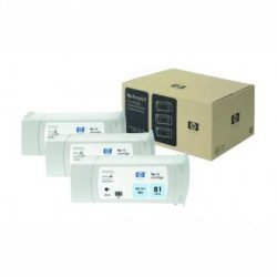 HP oryginalny wkład atramentowy / tusz C4934A. No.81. light cyan. 680ml. HP DesignJet 5000. PS. UV. 5500. PS. UV C4934A