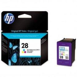HP oryginalny wkład atramentowy / tusz C8728AE. No.28. color. 8ml. HP DeskJet 3420. 3325. 3550. 3650. OJ-4110. PSC-1110 C8728AE