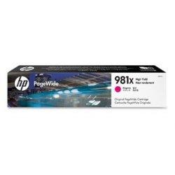 HP oryginalny wkład atramentowy / tusz L0R10A. No.981X. magenta. high capacity. HP PageWide MFP E58650. 556. Flow 586 L0R10A