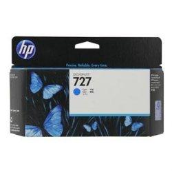 HP oryginalny wkład atramentowy / tusz F9J76A. No.727. cyan. 300ml. HP DesignJet T1530.T2530.T930.T1500.T2500.T920 F9J76A