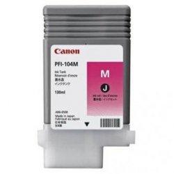 Canon oryginalny wkład atramentowy / tusz PFI104M. magenta. 130ml. 3631B001. ploter iPF65x. 75x