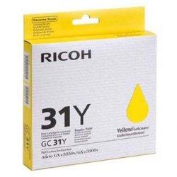 Ricoh oryginalny wkład atramentowy / tusz 405691. yellow. Typ GC 31Y. Ricoh GXe2600/GXe3000N/GXe3300N/GXe33